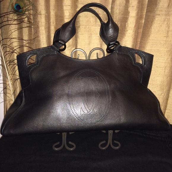 Cartier Handbags - Cartier Marcello de Cartier Large Leather Handbag 8a526b409b814